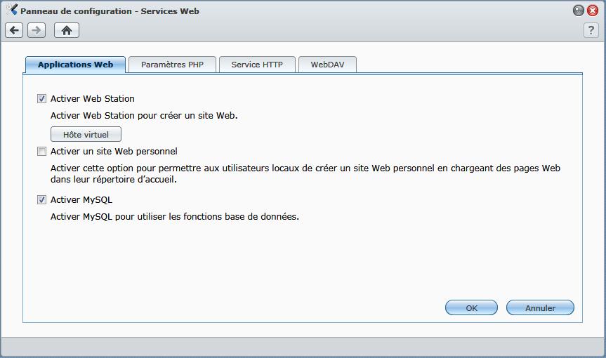 Activer_un_site_web_sur_Synology