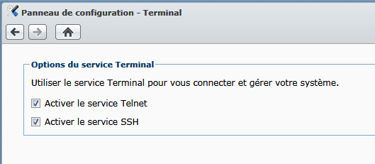 Synology_Activer_le_terminal_SSH
