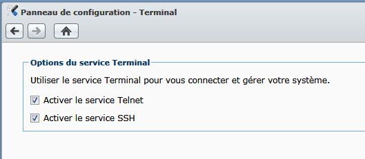 Synology_Activer_le_terminal_SSH
