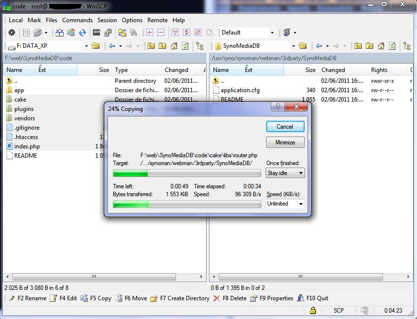 WinSCP_transfert_file