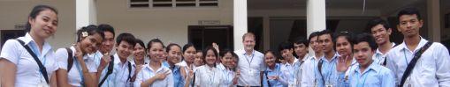 Les étudiants de première année du cours WEP
