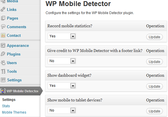 configuration_WP_Mobile_Detector