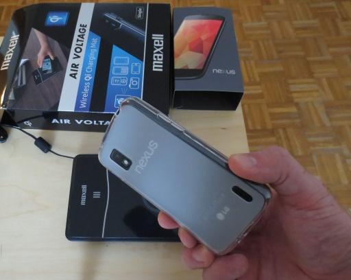 Coque silicone pour Nexus 4