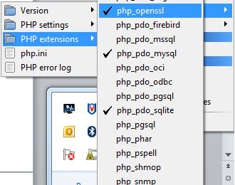 Vérifier la présence ou activer l'extension PHP open ssl